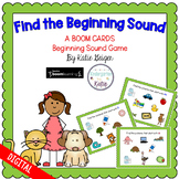Find the Beginning Sound BOOM CARDS