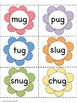 """""""Find the Bugs!"""" Word Family Pocket Chart Game"""