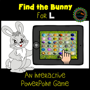 Find the Bunny PowerPoint Game for Articulation of L