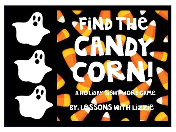 Find the Candy Corn - Sight Word or Math Halloween Game