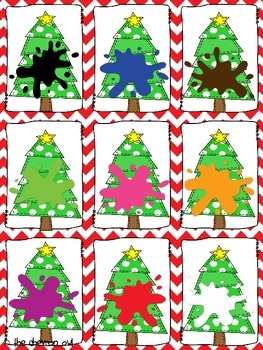 Find the Christmas Pickle Pocket Chart Activities BUNDLE