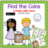 Find the Coins BOOM CARDS