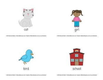 Common Nouns Task Cards - Set of 32 for Elementary Grammar
