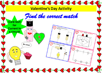 Valentines day activities science teaching resources teachers pay find the correct match card sort electric circuits valentines day activity fandeluxe Images