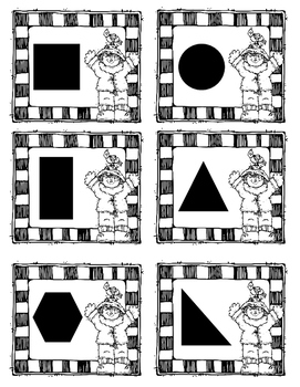 Find the Crow Flat Shapes Game