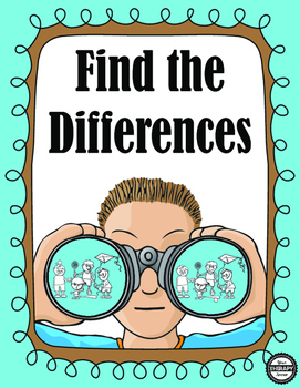 Find the Differences - Visual Perceptual Activity