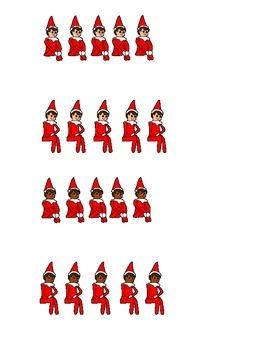 Find the Elf Barrier Game