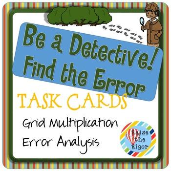 Error Analysis: Grid Multiplication