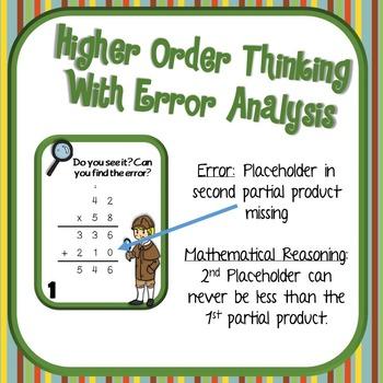 Error Analysis: Multiplication