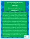 Find the Evidence Game - Inferring with Big Hope