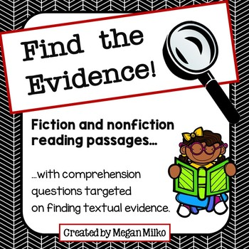 Find the Evidence: Reading Passages