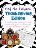 Find the Evidence! *Thanksgiving Edition*