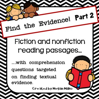 Finding Text Evidence part 2
