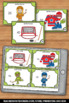 Find the Factors Task Cards, 4th Grade Math Review Games SCOOT Scavenger Hunt