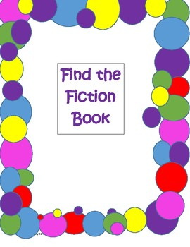 Find the Fiction Book