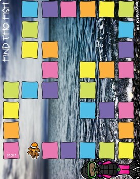 Find the Fish! An Addition and Subtraction within 10 Game
