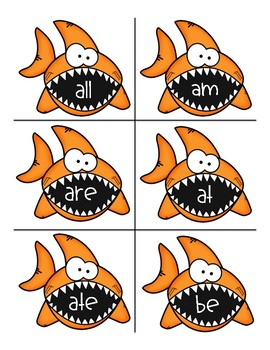 Find the Fish! Exciting Sight Word Game!