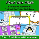 Find the Fish Interactive Math Game with 0 to 10 Addition