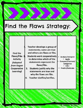 Find the Flaws & I´ve got This w/Perimeter & Area: Digital & Printable Versions