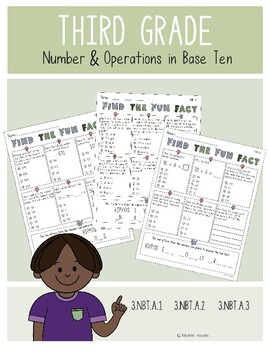 Find the Fun Fact: Number and Operations in Base Ten