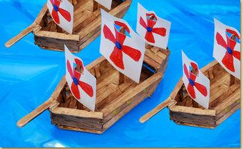 Social Studies & Language Arts Activity ~ Common Nouns, Columbus & Boat-Building