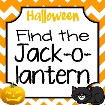 Halloween Find the Jack-o-Lantern