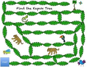 Find the Kapok Tree Rainforest Activity Addition through 5