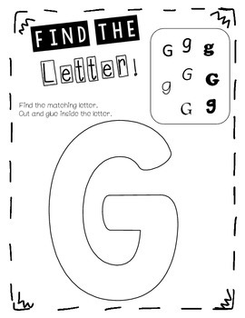 Find the Letter!