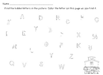 Find the Letter