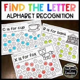Find the Letter Alphabet Pages