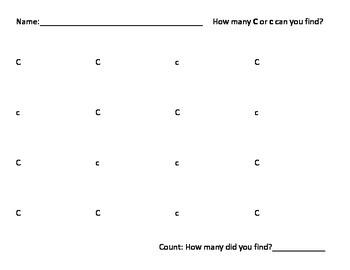 Find the Letter Alphabet Recognition Preschool K3 K4 K5 Worksheets