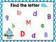 Find the Letter BOOM CARDS Letter Identification A-Z