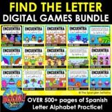Find the Letter DIGITAL BOOM GAMES BUNDLE (Spanish Alphabet)