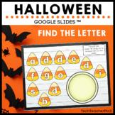 Halloween Find the Letter Google Slides ™ Alphabet