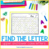 Find the Letter: Letter Recognition Worksheets