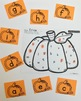 Find the Letter: Pumpkin Edition-Uppercase and Lowercase Letters