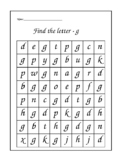 Letter reversals ~ b-d-g-p