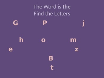Find the Letters