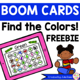 Find the Letters Boom Cards! Color Recognition FREEBIE