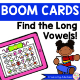 Find the Long Vowel Teams and Pairs No Prep Boom Cards!