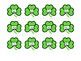 St Patrick's Day: Find the Lucky Clover Articulation Game - Postvocalic /r/