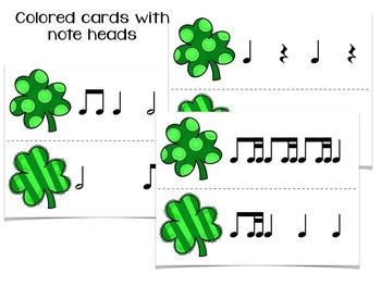 Find the Lucky Clover Rhythm Game {BUNDLED RHYTHM SET}