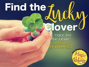 Find the Lucky Clover Rhythm Game {BUNDLED RHYTHM SET}