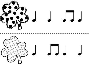 Find the Lucky Clover Rhythm Game {ta ti-ti}