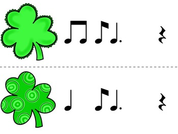 Find the Lucky Clover Rhythm Game {ti-tom}