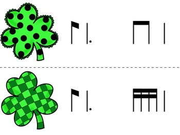 Find the Lucky Clover Rhythm Game {ti-tom}