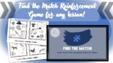 Find the Match! Open-Ended Reinforcement Game