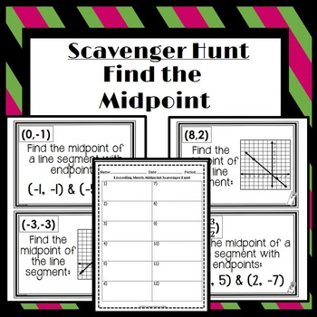 Find the Midpoint: Scavenger Hunt