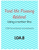 Find the Missing Addend 1.OA.8