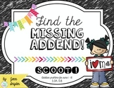Find the Missing Addend!